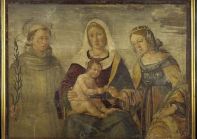 Filippo da Verona, Mystical Marriage of Saint Catherine and Saint Anthony of Padua