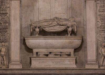 Monumental tomb of A. Roselli